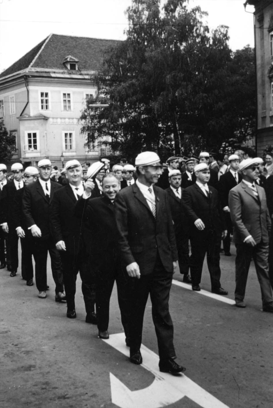 1966 Pennälertag Umzug