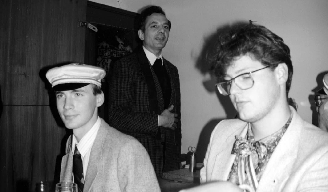 1990 Budeneinweihung