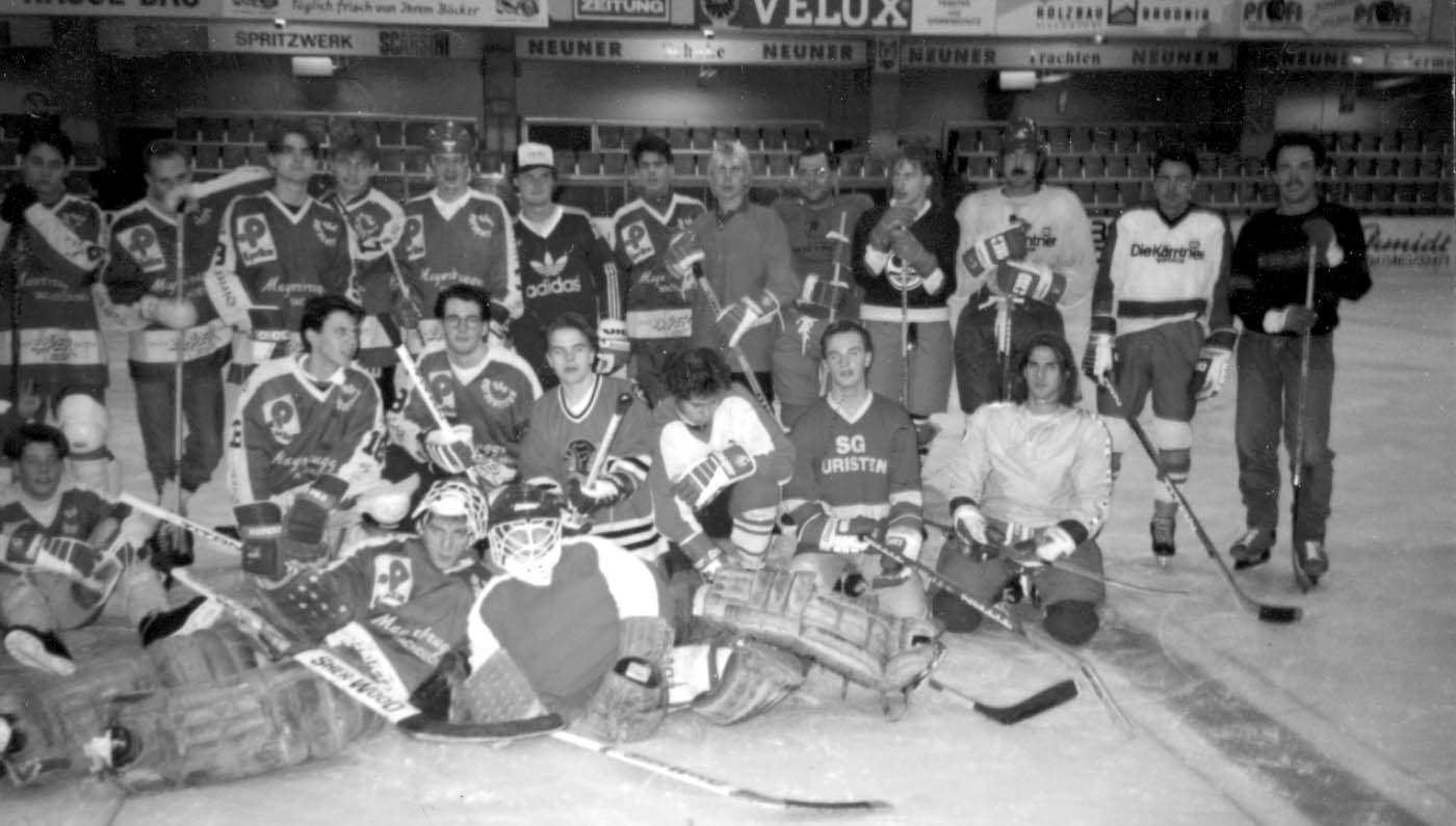 1991-11-23 Eishockey vs KTK